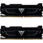 Kit Memorie Patriot Viper White LED 2x8GB DDR4 3200MHz CL16 Dual Channel pvlw416g320c6k