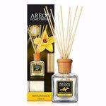Odorizant cu betisoare Areon Home Perfume 150 ml Vanilla Black