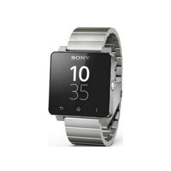 Smartwatch Sony SW2, Curea metalica, Argintiu
