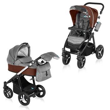 Carucior multifunctional 2 in 1 Baby Design Husky Caramell