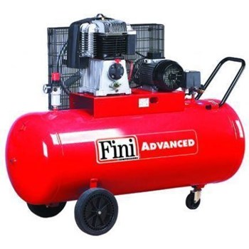 Compresor cu piston cu butelie de 270l, 10 bar, 435 l/min FINI BK114-270-5.5
