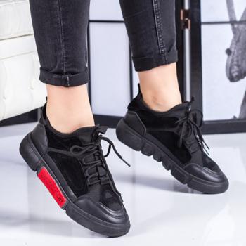Pantofi dama sport negri Corinia-rl
