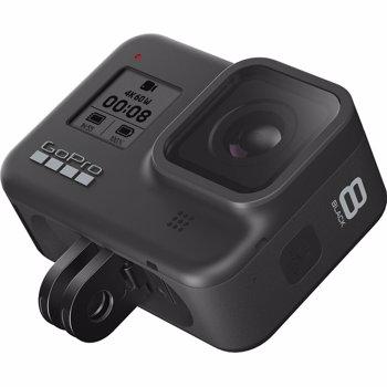 Camera Video de Actiune GoPro HERO8 Black Edition, Filmare 4K60, 12MP, Waterproof, GPS, Wi-Fi (Negru)