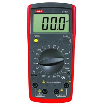 Capacimetru digital UT601 UNI-T, memorarea datelor