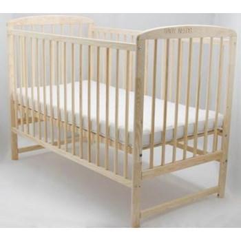 Patut din lemn BabyNeeds Ola 120X60 cm Natur boola01nt