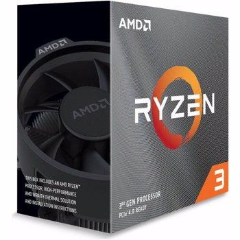 Procesor AMD Ryzen™ 3 3100, 3.6 GHz, 16MB, AM4, 65W (Box)