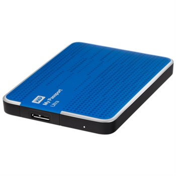 "Western Digital HDD Extern 500GB 2,5"", USB3.0, MY PASSPORT ULTRA WDBPGC5000ABL"