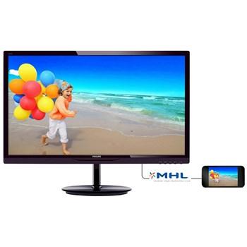 "Monitor LED Philips 284E5QHAD 28"" 1920x1080 MVA 16:9, Negru Cherry"