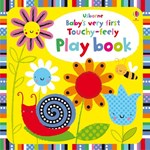 Babys very first Touchy-feely Play book - Usborne book (0+)