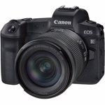 Aparat foto Mirrorless Canon EOS R 30.3 Mpx Kit Black RF 24-105mm f/4-7.1 IS STM