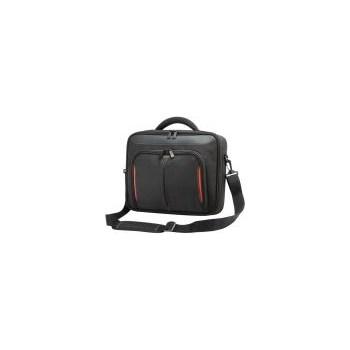 Targus Geanta laptop Classic 10-12,1 inch negru si rosu