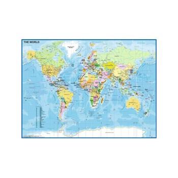 Puzzle Ravensburger - Harta Lumii, 200 piese (12890)