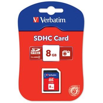 Card de Memorie Verbatim SDHC 8GB Class4