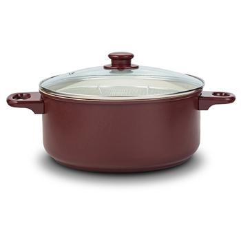 Friteuza ceramica cu capac, Ø 24 cm Eco Friendly