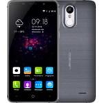 Smartphone Leagoo M5 Plus, Quad Core, 16GB, 2GB RAM, Dual SIM, 4G, Titanium Grey, pachetul include husa, folie de plastic si casti