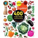 În grădină. 400 de autocolante refolosibile