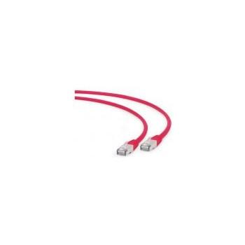 Gembird patchcord RJ45, cat. 6A,FTP, LSZH, 0.25m, red