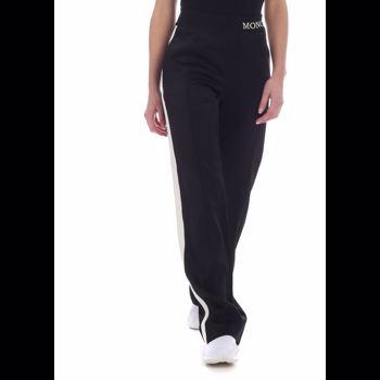 Moncler Moncler Pants In Black With Logo 1650000 C0006 999 Culoarea Black BM6567434