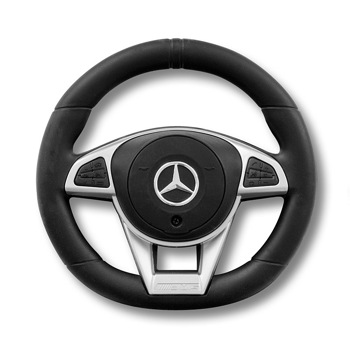 Masinuta copii ride on, Milly Mally, Mercedes Amg C63 S, Red
