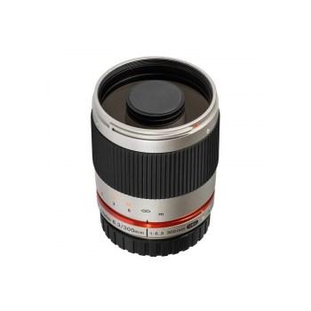 Samyang Reflex 300mm f/6.3 ED UMC CS argintiu - pentru Sony E Nex