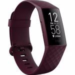 Nou! Bratara fitness Fitbit Charge 4, Bluetooth, NFC, GPS (Visiniu)