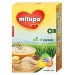 Cereale copii MILUPA cu PreciNutri 7 Cereale cu lapte 250g de la 6 luniI