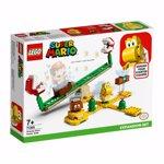 LEGO Mario: Set de extindere Toboganul Plantei Piranha 71365, 7 ani+, 217 piese