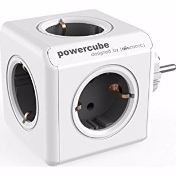 Priza PowerCube Allocacoc 1100GY Original Grey