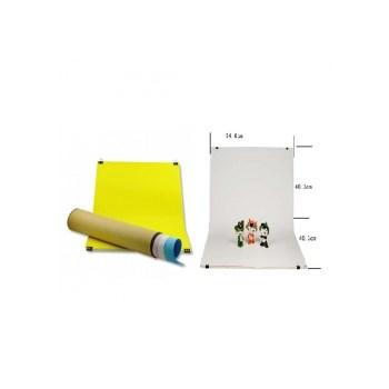 Kast KSP-806 - fundal PVC cu 5 fundaluri de hartie culorate