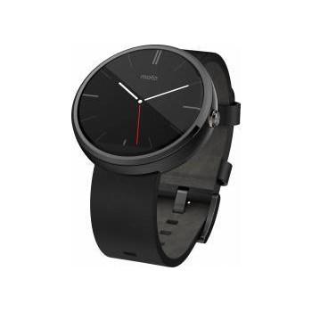 SmartWatch Motorola Moto 360 Leather Black