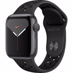 Smartwatch Apple Watch Nike Series 5 GPS 40mm Space Grey Aluminium Case Anthracite Black Nike Sport Band