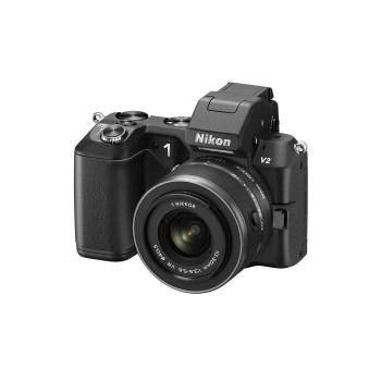 Nikon 1 V2 + Nikon 10-30mm f/3.5-5.6 negru