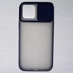Husa din silicon cu protectie glisanta pentru lentile pentru iPhone 12 Pro Max