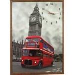 Tablou cu ceas inramat 50x70 cm London HR-F613-50/70
