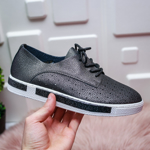 Pantofi Navami negri casual -rl