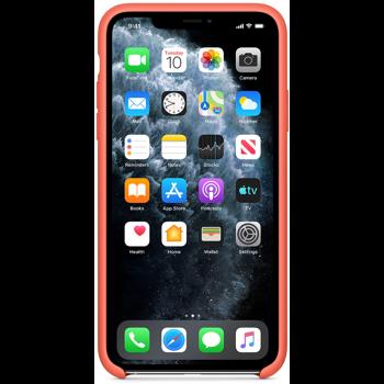Protectie Spate Apple MX022ZM/A pentru iPhone 11 Pro Max (Portocaliu)