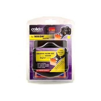 Cokin H521-52 - Holder P + inel P452 + Filtru P197 Sunset