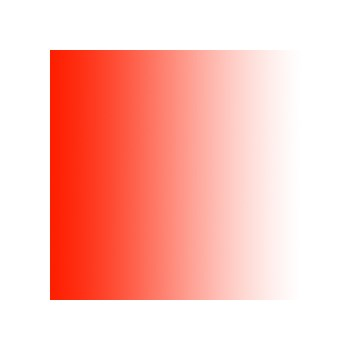 Colorama 151 - Fundal PVC degrade alb/rosu 110x170cm