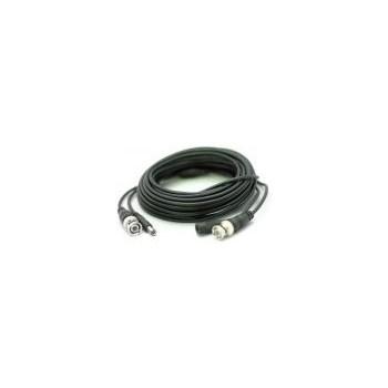 Cablu video si alimentare AKU 25m lungime, Mufat si sertizat, pentru camera de supraveghere CCTV AK3058