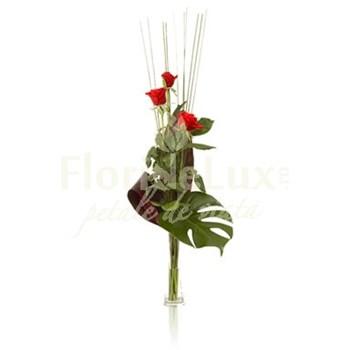 Buchet special de trandafiri rosii