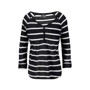 VERO MODA Hope Black and White 3/4 Sleeve T-Shirt