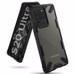 Husa Husa Samsung Galaxy S20 Ultra Ringke FUSION X Transparent/Negru