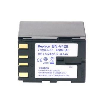 Power3000 PL428D.384 - acumulator Li-Ion tip BN-V428 / BN-V428U pentru camere video JVC, 4000mAh