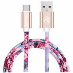 Cablu de date / adaptor Tellur USB Male la USB-C Male, 1 m, Multi-color