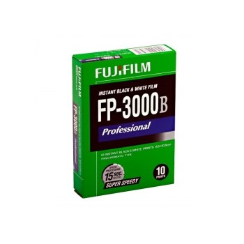 FujiFilm FP-3000B - film instant alb-negru tip pancromatic (10 coli - 8,5x10,8cm)