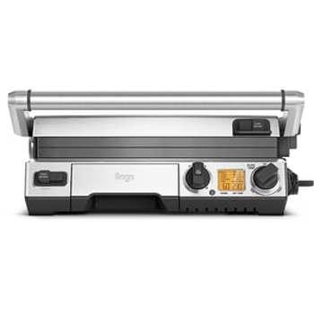 Gratar electric Sage Smart Grill Pro, otel, 2400W, argintiu/negru