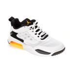 Pantofi sport NIKE albi, JORDAN MAX 200, din material textil si piele ecologica