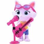 Figurina 44 Cats Milady cu microfon si chitara bass Smoby