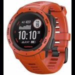Ceas activity tracker Garmin Instinct, GPS, Rezistent la apa, Bluetooth (Rosu)