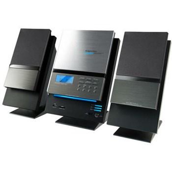 Sistem Audio Kruger&Matz cu CD, Argintiu/Negru, High Power, 40 W